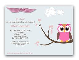 Walmart Baby Shower Invitation Cards Photo Walmart Owl Baby Shower Image