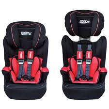 siege 2 3 isofix isofix child seat for groups 1 2 3 9 36 kg in and black sumex