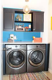 Laundry Room Storage Between Washer And Dryer by Small Laundry Room Decor Over Washing Machine Storage Laundry Room