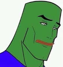 Frog Face Meme - handsome face pepe feels bad man sad frog know your meme