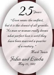 25 year wedding anniversary 25th anniversary cross personalized 25th wedding anniversary