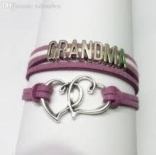 wholesale charm love grandma bracelets new designer love