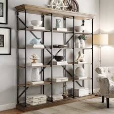 Glass Enclosed Bookcases Industrial Bookcases Birch Lane