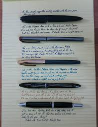quick writing samples with some new pens inkdependence