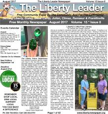 Chatham Medical Specialists Primary Care Siler City Nc Liberty Leader August 2017 Edition By Kevin Bowman Issuu
