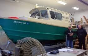 home built and fiberglass boat plans how to plywood ski glacier boats of alaska