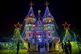 lights shining around the world photos abc news