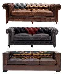 canapé vieux cuir canapés et fauteuils cuir vintage canapé vintage chesterfield