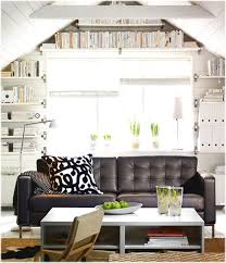 reading room for the living room with decor that has a large sofa