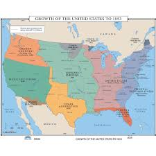 usa map louisiana purchase u s history maps from kappa maps