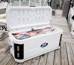 amazon com coleman 200 quart xp h2o marine cooler sports