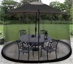 Patio Sets With Umbrella Mosquito Net Canopy Patio Table Umbrella Outdoor Garden Yard Deck
