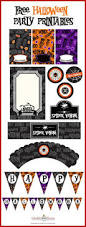 Halloween Birthday Invitations Printable Best 25 Halloween Cupcake Toppers Ideas That You Will Like On