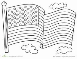 coloring pages american flag printable american flag coloring page drawing clip