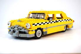 lego subaru brz car taxi white background lego yellow cars checkered