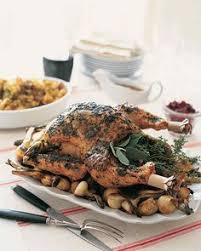 emeril s turkey breast with roasted garlic emeril lagasse martha
