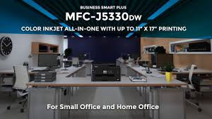 business smart plus color inkjet all in one brother mfcj5330dw