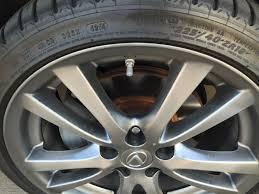 lexus paintwork warranty rust on brake rotor lexus is forum
