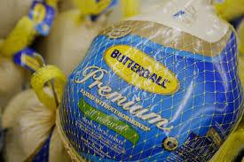 frozen turkey pileup signals thanksgiving discount business
