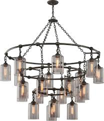 Wrought Iron Ceiling Lights Troy F4426 Gotham Worked Wrought Iron Chandelier Light Tro