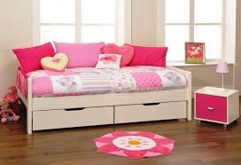 furniture wonderful wood daybed with storage offers enchanting