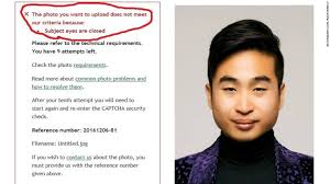 Asian Guy Meme Face - new zealand passport robot thinks this asian man s eyes are closed cnn