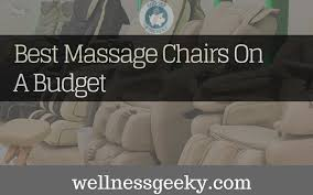 Top Massage Chairs Massage Chair Top 5 Affordable Models October 2017