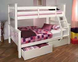 2 Bunk Beds Simply White Bunk Beds With 2 Storage Drawers Home Interiors