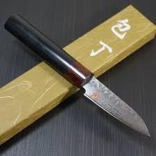 seto cutlery iseya hammered 33layers nickel damascus vg10 paring seto cutlery iseya hammered 33 layers nickel damascus vg10 paring knife 76mm i 0