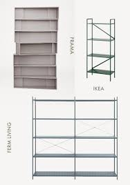 ikea draget amm blog 4 minimal shelving systems