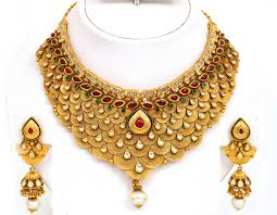 jewelry necklace designs images Indian gold jewellery necklace designs for making andino jpg