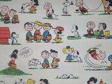 Snoopy Bed Set Peanuts Bed Sheets Ebay