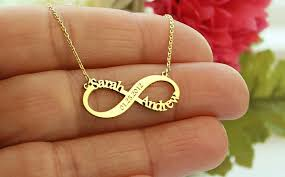 infinity necklace images Personalized infinity necklace infinity necklace gold necklace jpg