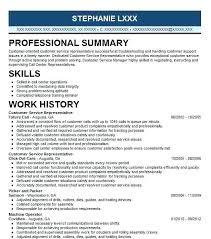 customer service representative resume customer service representative resumes