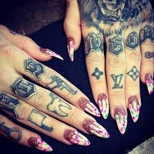 pin by on finger tattoos