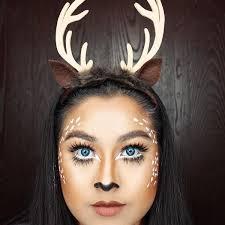Deer Antlers Halloween Costume 15 Halloween Themed Makeup Natural Hairstyles U0026 Accessories