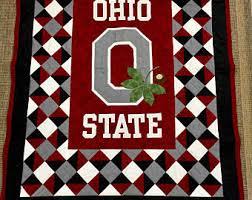 Ohio State Runner Rug Ohio State Quilt Etsy