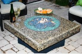 Granite Fire Pit by Fire Pits Ideas Marvelous Ideas Gas Fire Pits With Glass Perfect
