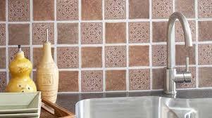 self adhesive kitchen backsplash tiles interesting innovative self adhesive kitchen backsplash plain