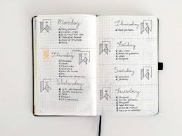 daily layout bullet journal 15 daily lay outs for the bullet journal without elephantswithout