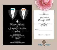 same wedding invitations wedding invitations printed same gender by onlybyinvite