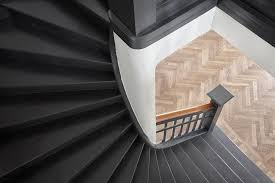 black staircase paint it black black staircase staircases and interiors
