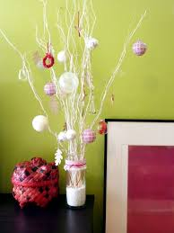 organize large decoration with traditional decor items