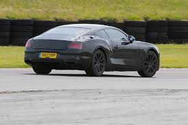 bentley sports car rear first drive 2018 bentley continental gt prototype automobile