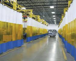 Retractable Welding Curtains Weld Curtains Welding Booth Curtains For Custom Weld Safety