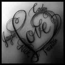 kids u0027 names love it tattoos pinterest tattoo tatting and