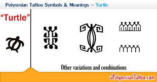 polynesian tattoo symbols u0026 meanings u2013 turtle