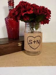 mason jar centerpieces for a fall wedding mason jar wedding