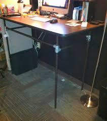 Industrial Standing Desk by 107 Best Standing Desks Images On Pinterest Diy Standing Desk