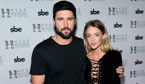 brody jenner engaged to kaitlynn carter kim kardashian invited to